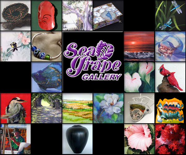 For over 20 Years - Sea Grape artists' gallery in Downtown Punta Gorda