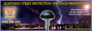 Lightning Strike PROTECTION through PREVENTION – SFS International Your Local Lightning protection Expert.