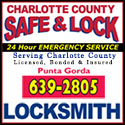 Charlotte County Locksmith Safe Lock