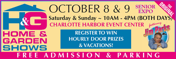 The Original Home and Garden Show / Senior Expo is Coming to the Charlotte Harbor Events Center!
