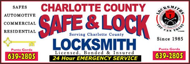Charlotte County Safe Lock Banner