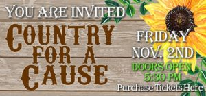 Country for a Cause @ Charlotte County Fairgrounds EXPO Hall | Port Charlotte | Florida | United States