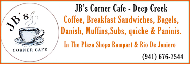 Deep Creek has a New Coffee Shop and Cafe in Deep Creek. Breakfast Sandwiches, Bagels, Danish, Muffins, Subs, quiche and Paninis!
